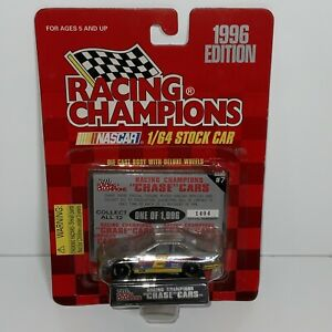 1996 Racing Champions 1/64 #2 Rusty Wallace Chrome Chase car 1,404/1,996 Rare