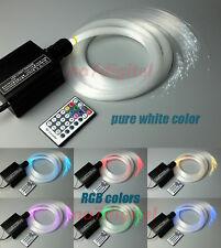 Upgrade RGBW fiber optic light kit optical fiber light 3mx300p star ceilings new