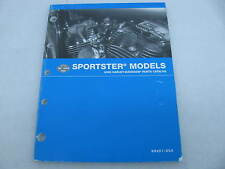 2005 Harley Davidson Sportster Parts Catalog Manual Book 99451-05A