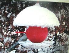 rot Vogelhaus Vogelfutterhaus verschiedene Aufbauarten verschiedene längen 2in1
