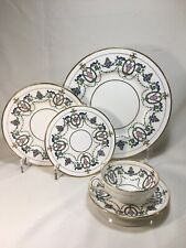 Minton 5-PIECE PLACE SETTING in the H2581 Pattern, RdN#608547 c.1913 - Multiples