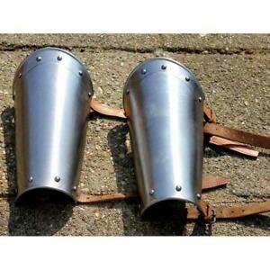 Medieval steel Vambraces, steel bracers