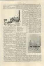 1925 Novelty Locomotive 1829 William Iv The Rocket Sanspareil