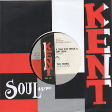 THE PUFFS I Only Cry Once A Day Now / SUPERBS Wind In NEW NORTHERN SOUL 45 (KENT