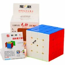 Cuberspeed New batch Qiyi WuQue 4x4 Stickerless Magic cube MoFangGe Wuque 4x4x4