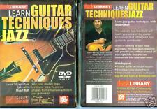 Learn Guitar Techniques Jazz - Lick Library - Brand New And Sealed