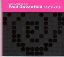(DH897) Paul Oakenfold, Como Tu Remixes - 2004 DJ CD