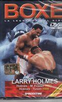 DVD=LARRY HOLMES=LA LEGGENDA DEL RING=SIGILLATO