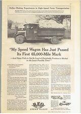 Vintage, Original, 1930 - Reo Speed Wagon Truck Advertisement