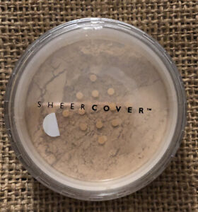 Sheer Cover Mineral Foundation Powder Buff New Sealed Full Size Makeup