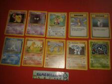 Lots de cartes Pokémon Set de Base