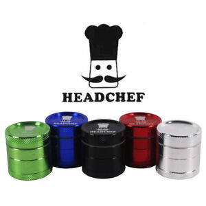 *Special Offer!* Head Chef 4 Part Mini Sifter Grinder 30 mm *Various Colours!*