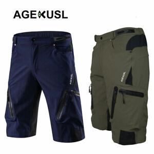 Baggy Cycling Shorts Bike Off Road Downhill MTB Hi-Density Men Short Pants