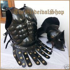 Armour Medieval 300 Helmet Suit Muscle Jacket Greek Movie Roleplay Antique