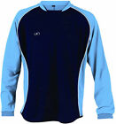 "Prostar Adult Equinox Sweat Shirt Navy/Sky/White Size XL (46/48"")"