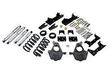 Belltech 01-06 Chevy Silverado/Sierra Std Cab 5/7 Drop w/SP Shocks Lowering Kit