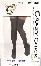 SEXY WOMEN LADIES STAY UP HOLD UP STOCKING DESIGNER LEGWEAR OVER THE KNEE ST3955