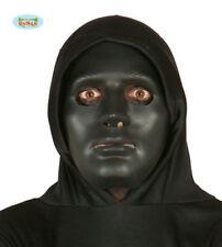 Guirca 2659 Maschera nera per adulto Carnevale Halloween