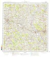 Russian Soviet Military Topographic Maps- KALISZ (Poland), 1:200 000, ed.1978