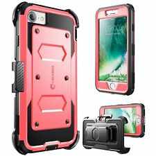i-Blason Armorbox Heavy Duty Shockproof Case w/ Screen Protector For iPhone 7/8