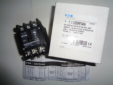 NEW EATON/CUTLER HAMMER C25DRF340A  110/120V COIL CONTACTOR