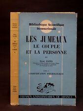 LES JUMEAUX - LE COUPLE - ET LA PERSONNE - ZAZZO  [René] - Tome II - 1960