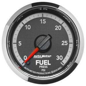"Auto Meter 8561 2-1/16"" Gen 4 Dodge Factory Match Fuel Pressure Gauge,NEW"