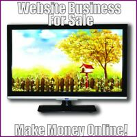 TELEVISIONS Website Earn $190.21 A SALE|FREE Domain|FREE Hosting|FREE Traffic
