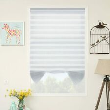 """3-PACK 36"""" x 72"""" Light Filtering WHITE Pleated Window Blind Shade Polyester"""