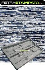 STAMPO MATRICE x FINTA PIETRA IN GESSO CEMENTO mold Stone VENEER for PLASTER