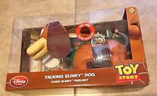 "Toy Story Talking Slinky Dog Disney  Pixar 11"" L NEW in box"