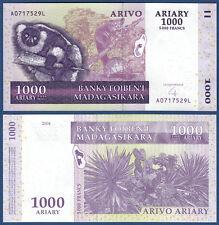 MADAGASKAR / MADAGASCAR  1000 Ariary 2004  UNC  P.89 b