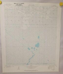 Five Lakes Quadrangle Louisiana Cameron Parish 1934 Geological Survey Map