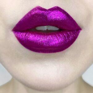 Kat Von D Everlasting Glimmer Veil Lipstick 'Razzle' Magenta Pink NIB