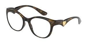 NEW Dolce & Gabbana 5069 Eyeglasses 502 Havana 100% AUTHENTIC