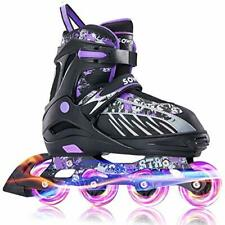 New listing Sowume Adjustable Inline Skates for Girls and Boys Roller Blades Skates with ...