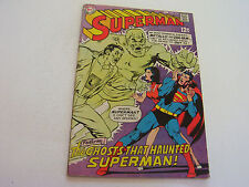 Superman #214 February 1969 Neal Adams Cover Very Good