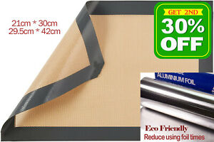 Eco-friendly Non Stick Silicone Baking  Mat BBQ Pastry Oven Knead Dough sheet