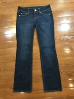 Womens Size 2 American Eagle Outfitters Jeans Slim Boot Cut Dark Wash