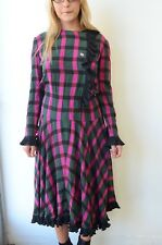 Vintage Authentic Balenciaga Plaid dress