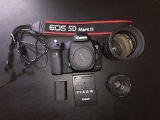 Canon EOS 5D Mark III 22.3MP Digital SLR Camera - With Samsung 2.0/135