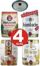 4 x Partyfass Verschiedene Sorten 5 Liter Alkoholgehalt siehe Beschreibu 3,19€/L