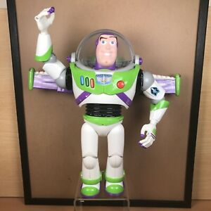 """Disney Store Pixar Toy Story 12"""" Buzz Lightyear - With Lights and Sounds - Andy"""