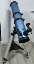Sky-Watcher 130mm/900mm telescope on EQ2 mount. Red dot Hardly used