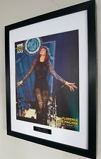 Florence And The Machine-Original NME-Ltd Edt Plaque Certificate Luxury Framed