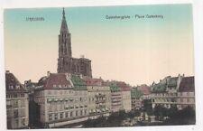 strasbourg ,  place gutenberg --
