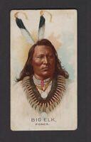 1888 Allen & Ginter N2 Celebrated American Indian Chiefs Big Elk