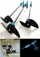 Portable Drill Water Paddle Fishing Handheld Cordless Drills Canoe Raft Boat NEW