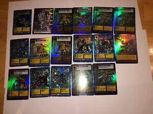 Bandai Digimon Trading Card Lot Foil & Holo