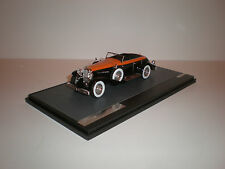 1/43 Matrix 1936 Duesenberg Model J Riviera Phaeton  black w/ orange